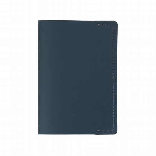 Recycled Leather - Passport Holder - Petrol